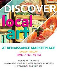 Discover Local Art at the Renaissance Marketplace